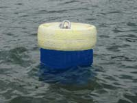 Main mooring buoy.
