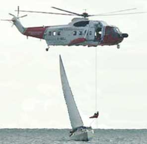 Sailtrain Seamanship Helicopter Rescues At Sea